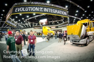 Freightliner Display at MATS 2014