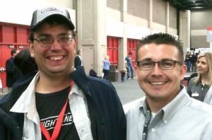 Jimmy Nevarez and Tom at MATS 2014