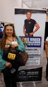 One of the contest winners with her FIT system.
