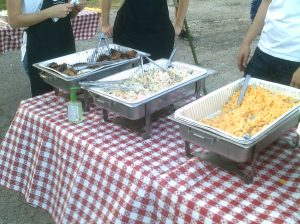 Some of the good food that was provided.