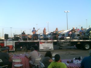 Empty Pockets performing at GATS