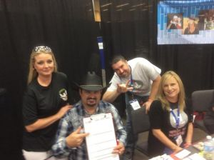 Tony and Misty Justice registering at GATS