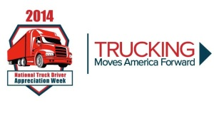 American Trucking Association 2014 Driver Appreciation Logo