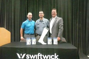 from left to right  Grant Castle, Tom Kyrk, and Mark Cleveland at GATS